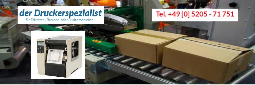 Zebra 170xi4 Thermotransfer-Drucker haben Ihren Platz in der Logistik