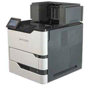Frachtetiketten sind nach nur wenigen Sekunden gedruckt