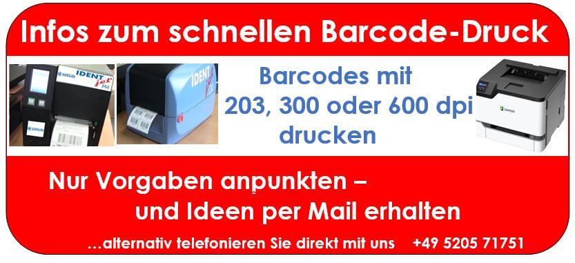 DHL-Etiketten drucken - Drucker für die Online-Ausgabe