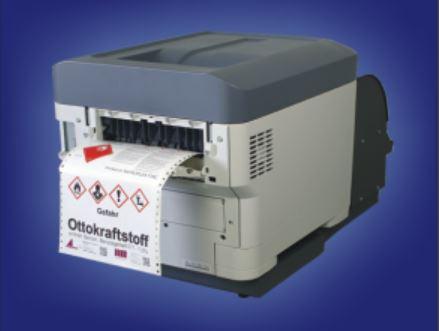 GHS-Etiketten wirtschaftlich mit F26C vordrucken