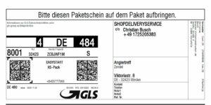 Drucker für Ihre GLS-Etiketten