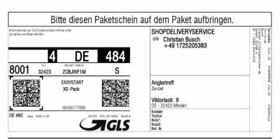 GLS-Etiketten aus Windows, Mac, Unix, Linux usw. drucken