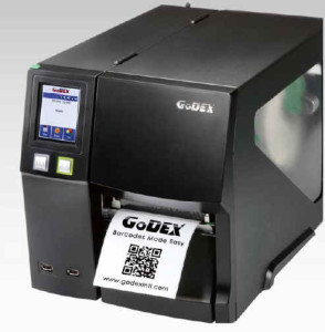 GODEX-ZX1200i mit 203 dpi Bildauflösung