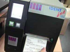 GS1-128 Barcode-Drucker_IDENTjet-M4