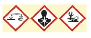 Gefahrstoffkennzeichnungen müssen kratzfest und wischfest sein