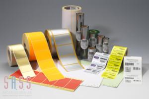 SK-Etiketten - individuelle Geräteschilder /Inventarschilder + Drucker, Etiketten und Druckfolien