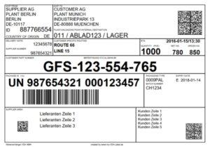 Global Transport Label