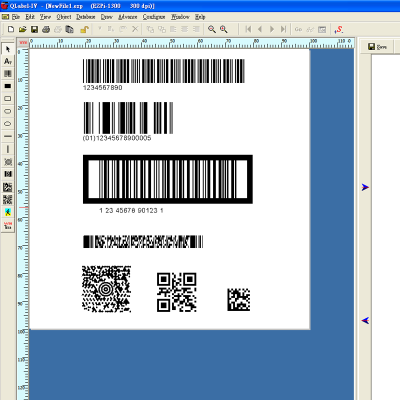 oDEX ZX1200i Label-Software