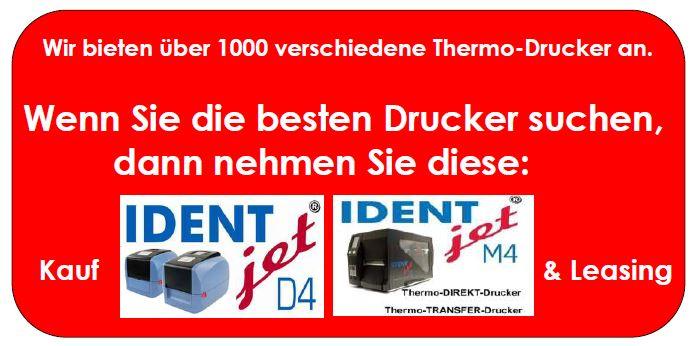 IDENTjet - die besten Drucker