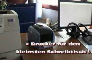 IDENTjet D4 passen auf jeden Schreibtisch