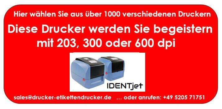 IDENTjet D4 werden Sie beigeistern