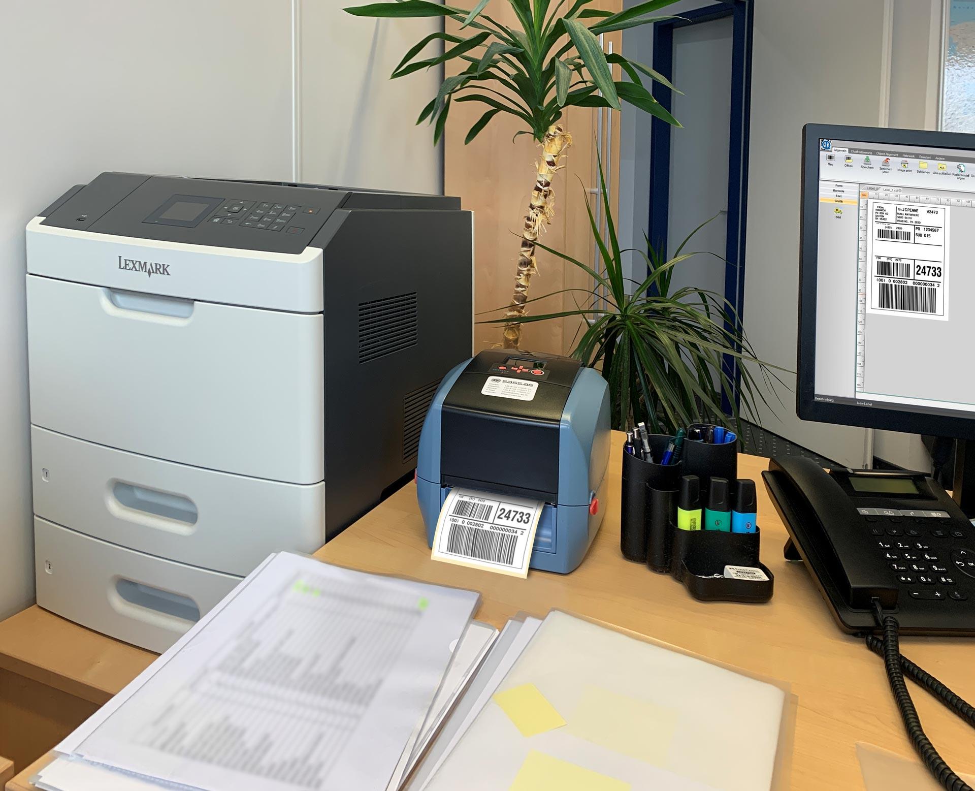 IDENTjet D4 - Großartige Drucker sind ganz klein
