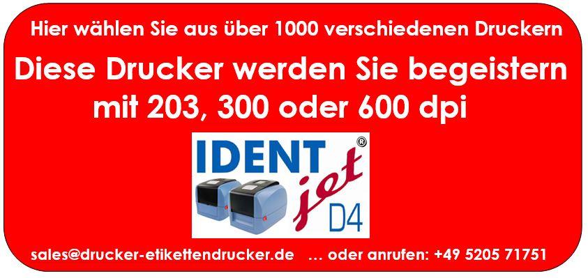 IDENTjet D4 werden Sie begeistern