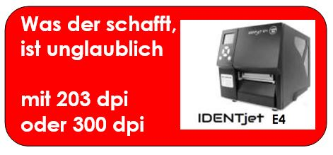 Infos zum IDENTjet E4 gibt es hier