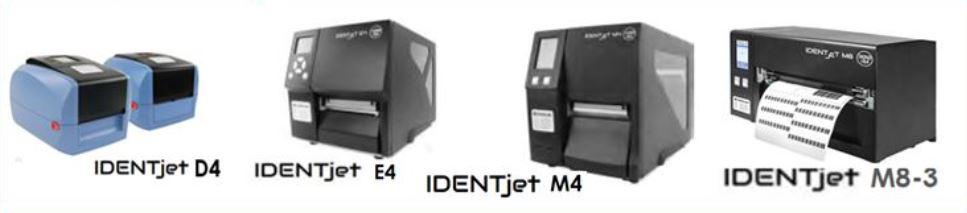 IDENTjet - Drucker-Familie