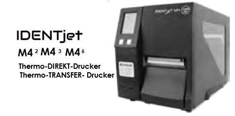 IDENTjet M4 - perfekte Drucker aus einer Familie