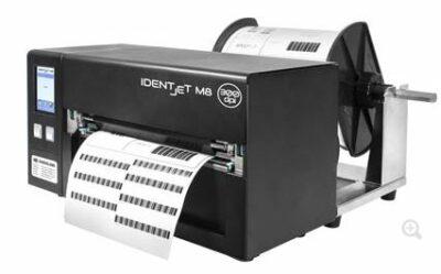 IDENTjet M8-3 Thermotransfer- / Thermodirektdrucker zeichnen sich durch ihr sehr kompaktes Design aus