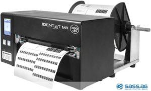 Material-Anforderungsscheine drucken Sie mit IDENTjet M8-3