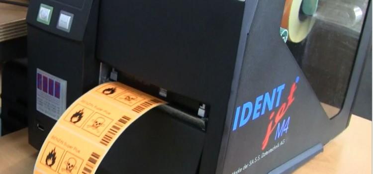 IDENTjet M4 Etiketten-Drucker