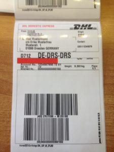 DHL-Etiketten aus Windows, Mac, Unix, Linux usw. drucken