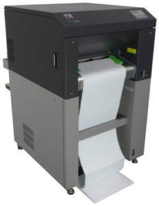 Infoprint-75 = Solid 85E bedrucken Karton im schwarz-weiß-Druck