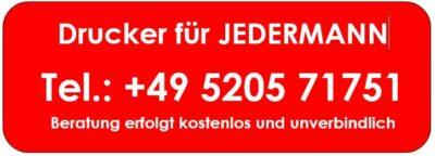 Drucker für JEDEDRMANN