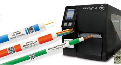 QR-Code auf Kabel, Schläuche, Leitungen, Werkzeuge und Röhrchen