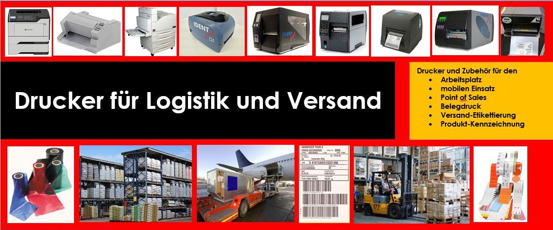 Kommissionierstrassen-Drucker mitUnterstützung: Hardware - Beratung - Support - Verbrauchsmaterialien aus einer Hand