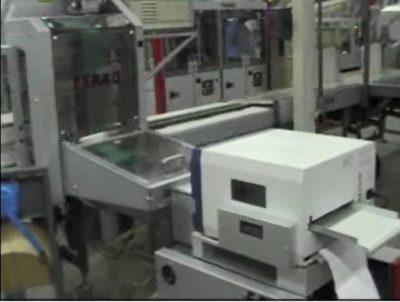 Anlagenbau-Drucker mit kontrollierter Druckausgabeim Zeitungsversand