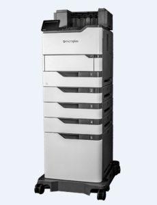 SOLID 52A4 sind ebenfalls Kuvertieranlagen-Drucker mit kontrollierter Druckausgaben