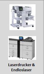 Laserdrucker + Endloslaser