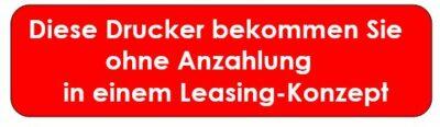 Logistik-Dokumente - Leasing-Drucker OHNE Anzahlung erhalten