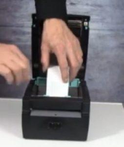 Linerless-Drucker verfügen über eine bequeme Handhabung.