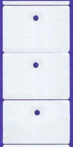 Etiketten mit Bindeloch bedrucken