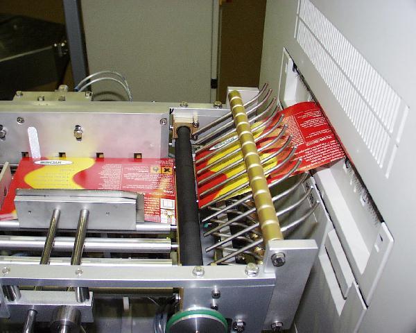 Profi-Etikettendrucker in der Produktion