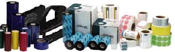 Verbrauchsmaterial und Verschleißteile für Thermo-Drucker.