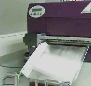 Blutspendetermin-Einladungskarten mit einem Thermodrucker sehr schnell drucken