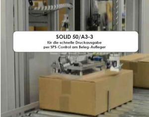 SOLID 50A3-3 amBeleg-Aufleger