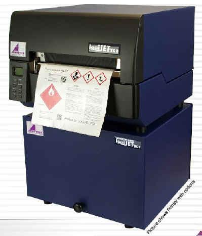 Labelprinter drucken 2-farbig pharmazeutische und GHS-Etiketten