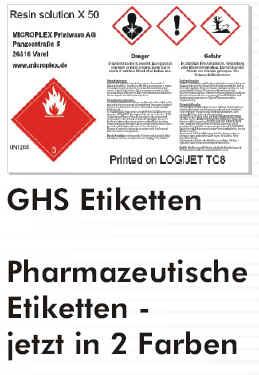 GHS-Aufkleber drucken