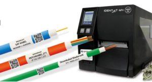 Markierung von Kabel, Schläuche, Leitungen, Werkzeuge und Röhrchen mit QR-Code