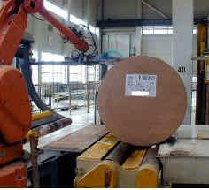 Maschinenbau-Drucker als Thermodirekt-Thermotransfer-Ausgabesysteme