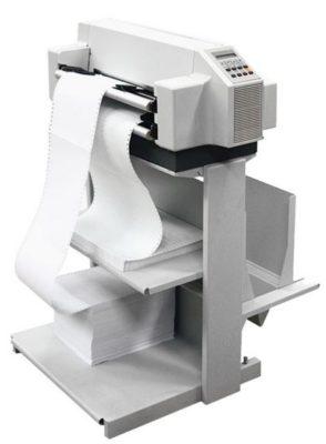 Matrix-Drucker auf dem Standfuss