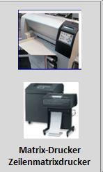 Matrixdrucker + Zeilenmatrixdrucker