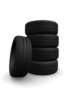 Mobile Drucker in der Reifen-Einlagerung