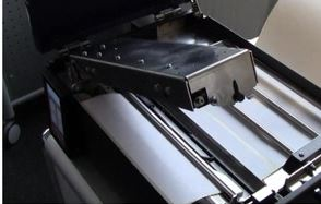 Fahrzeugdrucker mit komfortabler Druckmechanik