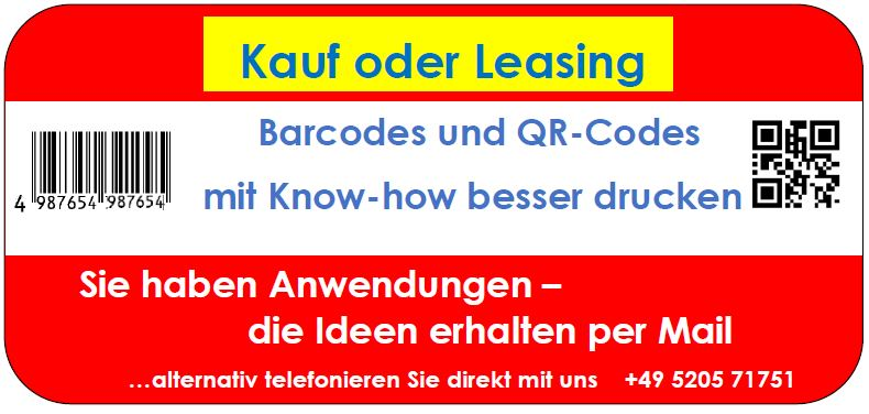 Mobile Rechnungsdrucker per Kauf oder Leasing - beides ist möglic
