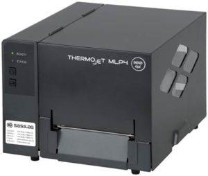 Mobile Thermotransferdrucker mit Spendefunktion.