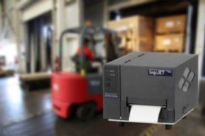THERMOjet MPL4 sind mobile Thermotransferdrucker, konzeptioniert mit bis zu 106 mm Druckbreite.