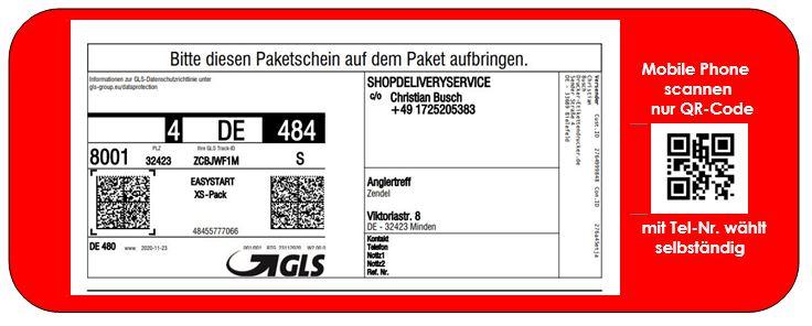 NOVEXX-Drucker für Paketetiketten für UPS-, DPD-, TNT, Deutsche Post-, DHL, GLS, Hermes und andere